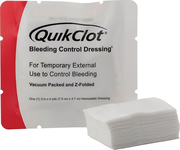 QuikClot® Bleeding Control Dressing®