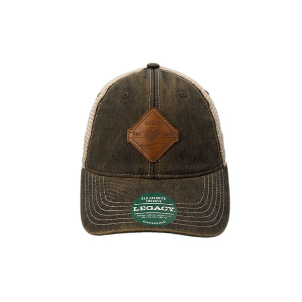 Shield Arms Leather Patch Hat