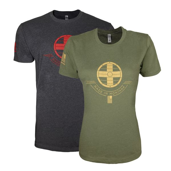 Shield Arms Made in MT Shirt -
